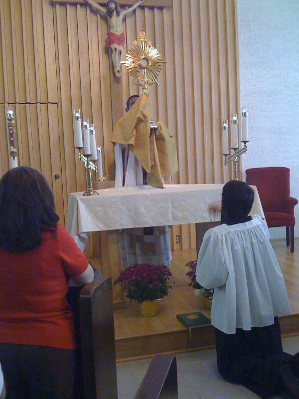 Adoration (first Friday of the month)